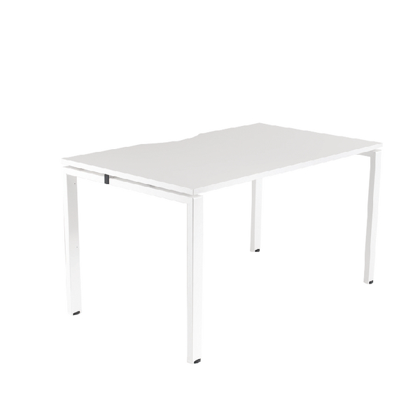 Arista White 1200x800mm Bench 1 Person System KF838987