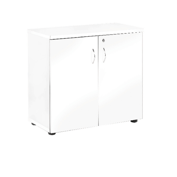 First 730mm Cupboard White (Includes single shelf) KF839211