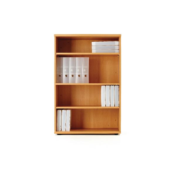 First 1200mm Bookcase Oak (W800 x D450 x H1200mm) KF839215