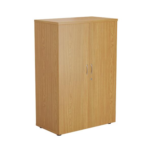 Jemini Oak 1200mm 1 Shelf Cupboard KF840140