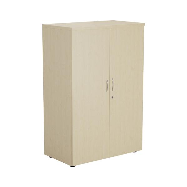 Jemini Maple 1200mm 1 Shelf Cupboard KF840141