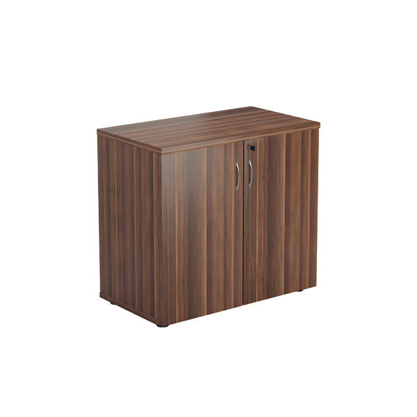 Jemini Walnut 730mm 1 Shelf Cupboard KF840151