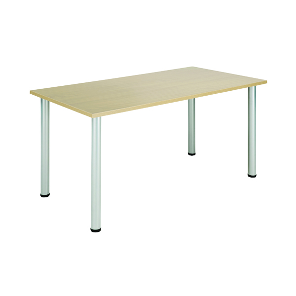 Jemini Maple 1200x800mm Rectangular Meeting Table KF840180