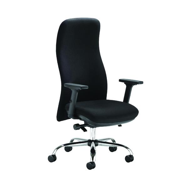Capella Tempest Pst Chair Black