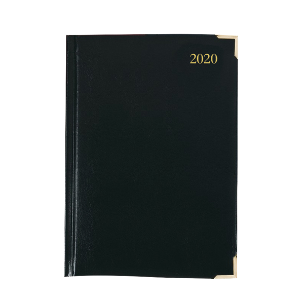 Executive Diary A5 Day Per Page 2020 Black KFEA51BK20
