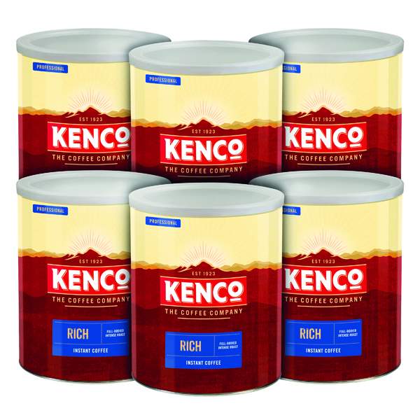 Kenco Rich Coffee Case Deal 750g (Pack of 6) 4032089