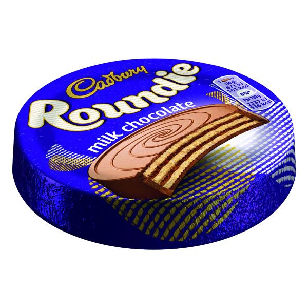 Cadbury Roundie Biscuit 30g (Pack of 30) 4043597