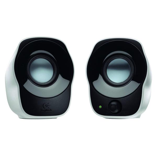 Logitech Z120 Silver/Black Stereo Speakers 980-000513
