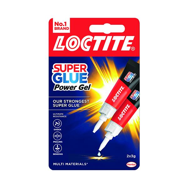 Loctite Super Glue Power Flex Gel 3g (Pack of 2) 2560191