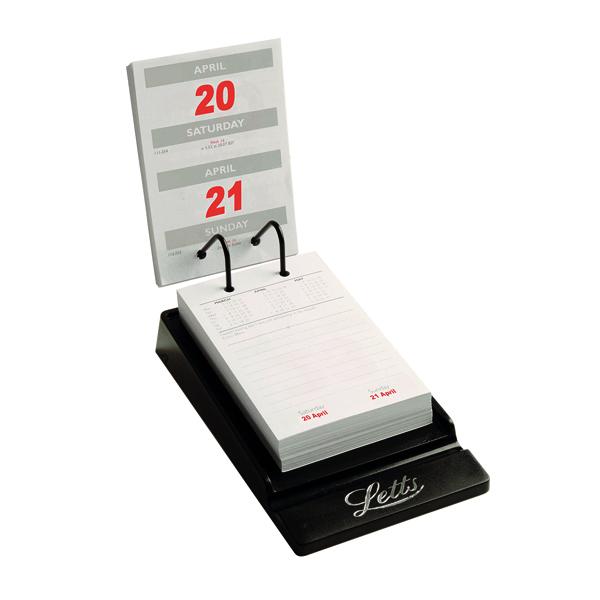 Letts System Desk Calendar 2020 20-TSDC