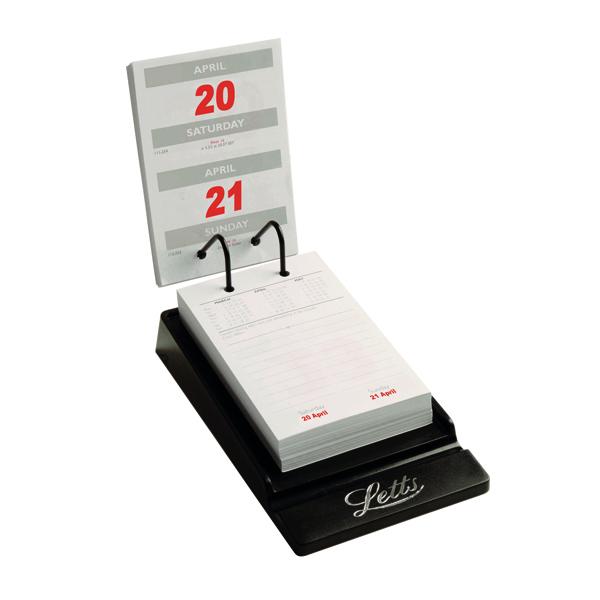 Letts System Desk Calendar 2021 21-TSDC