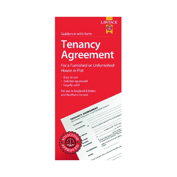 LawPack Tenancy Agreement (Pack of 5) TM8813