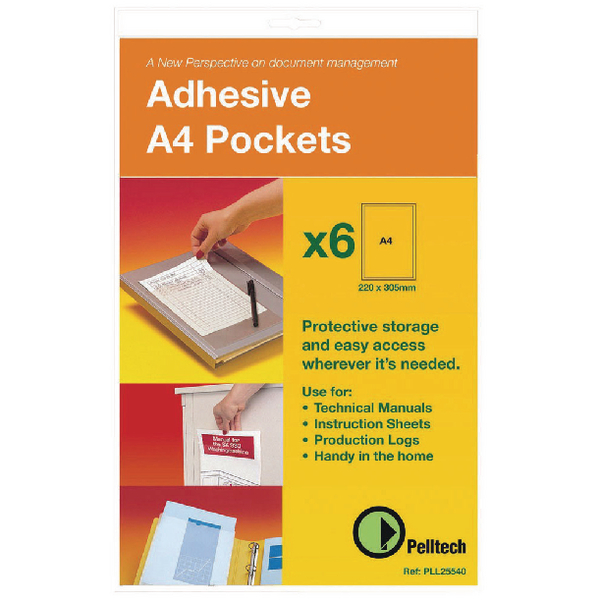 Pelltech Maxi Pocket A5 (Pack of 10) PLL25544