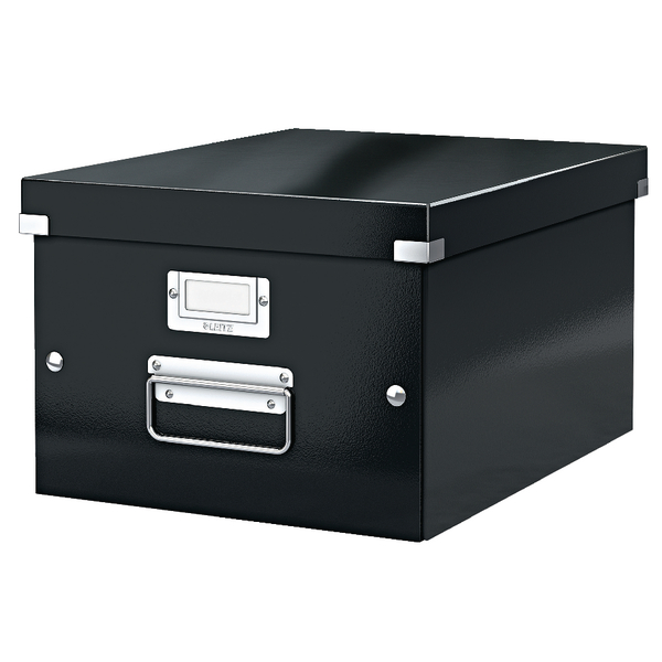 Leitz Click Store Medium Storage Box Black 60440095