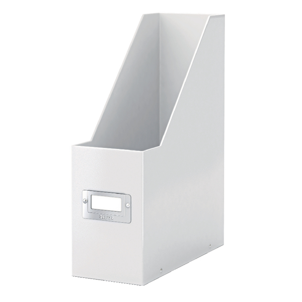 Leitz Click & Store Magazine File White (Back and front label holder for easy indexing) 60470001
