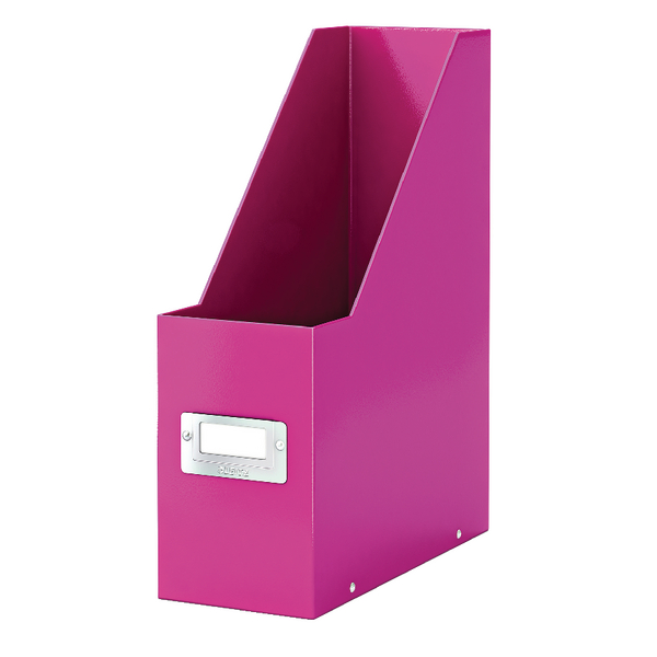 Leitz Click & Store Magazine File Pink (103mm spine whitch is laminiated for lasting use) 60470023