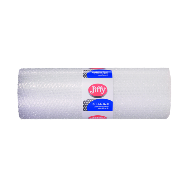 Jiffy Bubble Film Roll 500mmx10m Clear (Hard wearing and reliable) BROC37737