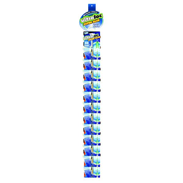 Ultraloc Instant Bond Gel Super Glue Clipstrip (Pack of 24) SUGSNP3