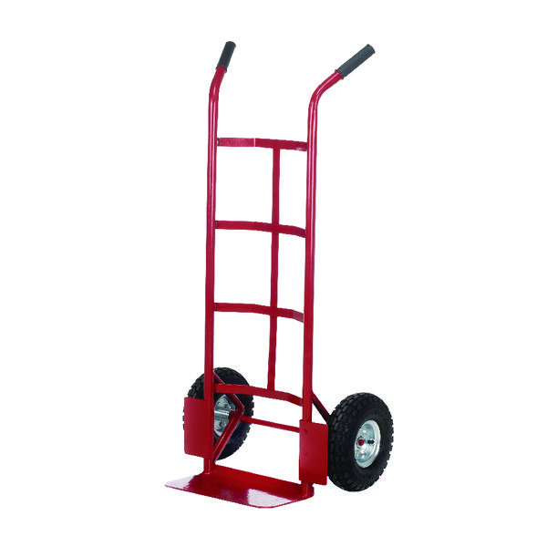 Pneumatic Tyre Sack Truck Red 150kg Capacity (H1155 x W550 x D450mm) PTST