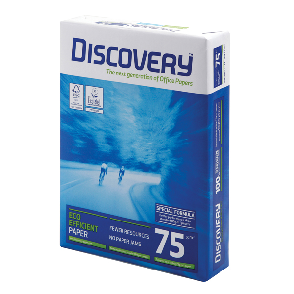 Discovery A4 75gsm White Paper (Pack of 2500) 59908
