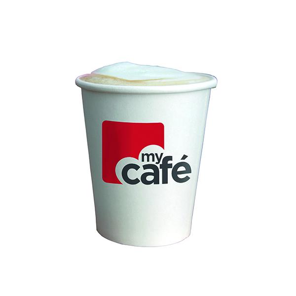 Mycafe 12oz Single Wall Hot Cups (Pack of 50) HVSWPA12V