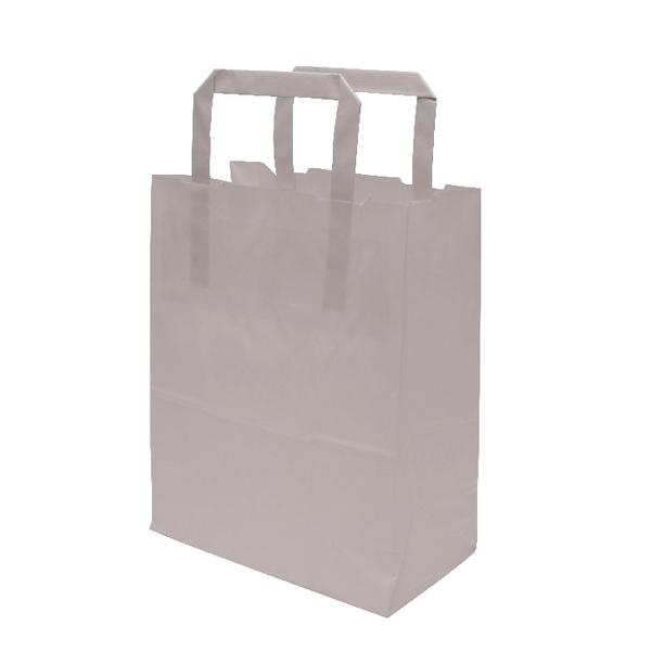 MyCafe Kraft SOS Carriers Internal Handles 175x95x215mm White (Pack of 500) 304701