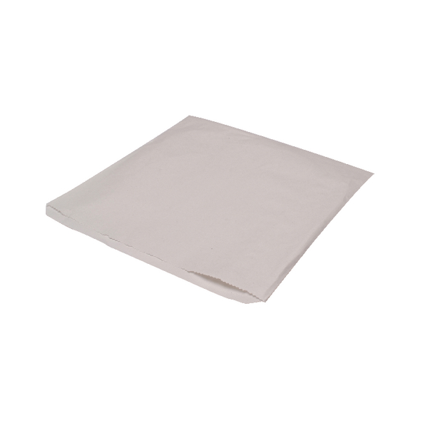 MyCafe Sulphite Bags Strung 250x250mm White (Pack of 1000) 201110S
