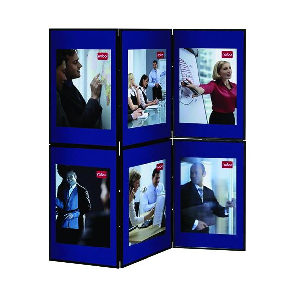 Nobo Ultra Lightweight Showboard 6 Panel Grey/Blue 1900043