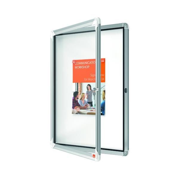 Nobo Weatherproof External Glazed Case 615x770mm 1902577