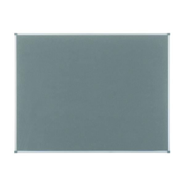 Nobo Classic Grey Felt Noticeboard 900x600mm 1900911