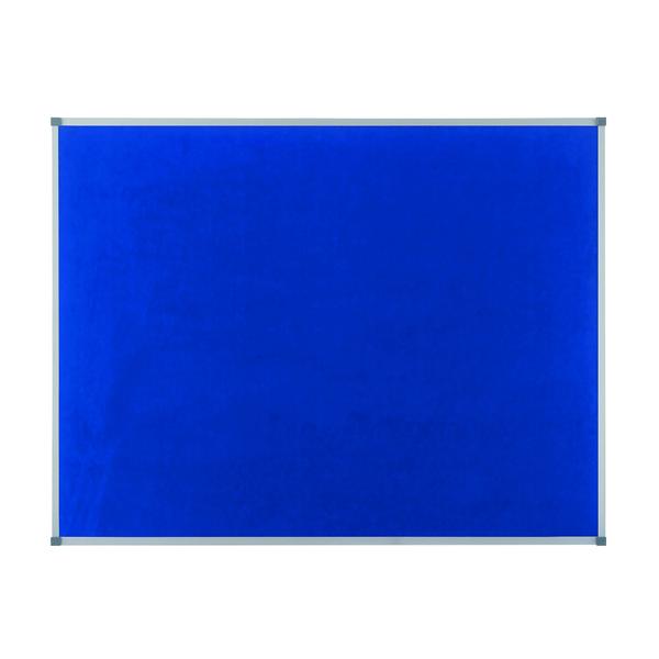 Nobo Classic Blue Felt Noticeboard 1200x900mm 1900916