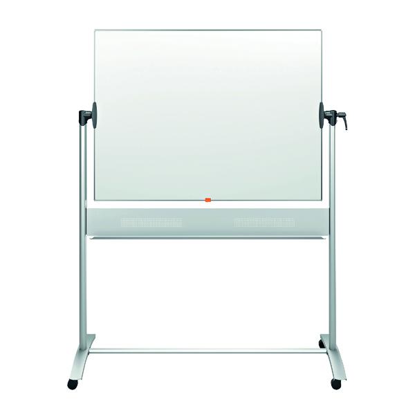 Nobo Classic Enamel Mobile Whiteboard 1500x1200mm 1901035