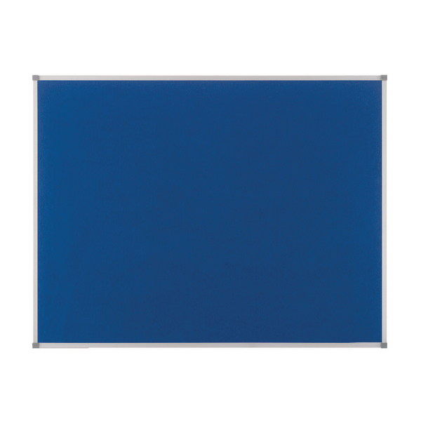 Nobo Classic Blue Felt Noticeboard 1800x1200mm 1900982