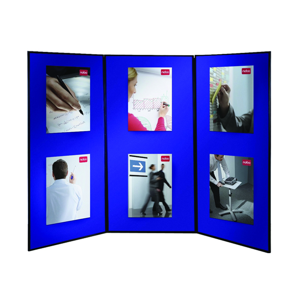 Nobo Lightweight Showboard Extra 3 Panel (Dimensions: 900 x 1800mm) 1901710