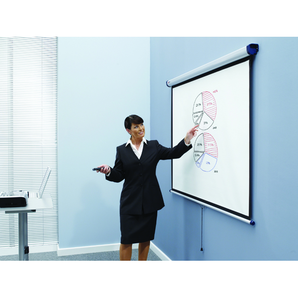 Nobo Wall Mounted Projection Screen 2000x1513mm 1902393
