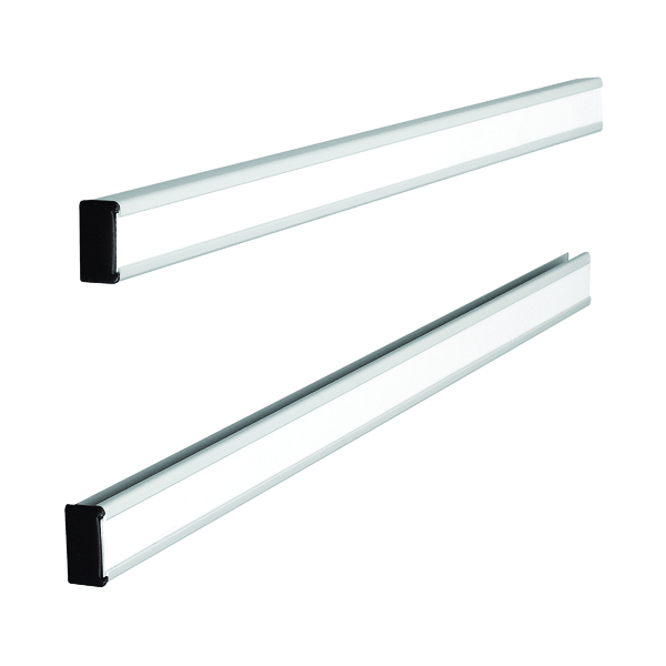 Nobo T-Card Metal Link Bars Size 24 772 x 13mm (Pack of 2) 32938888
