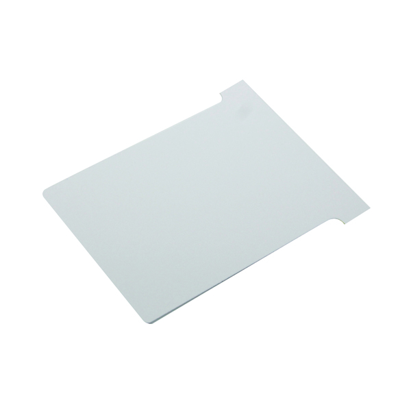 Nobo T-Card Size 3 80 x 120mm White (Pack of 100) 2003002