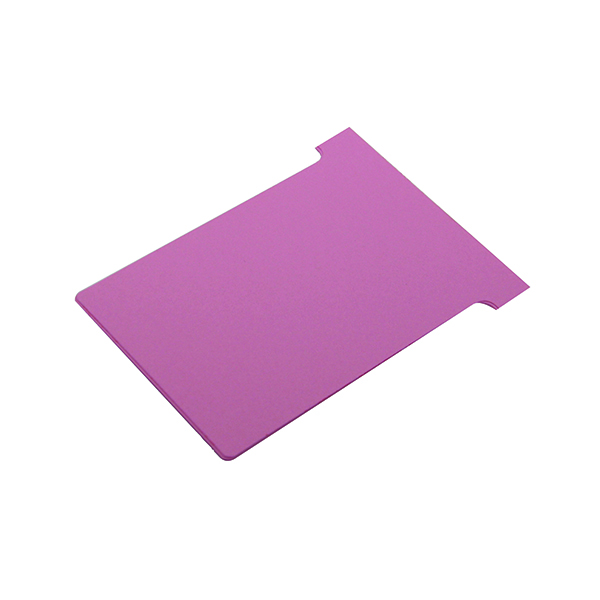Nobo T-Card Size 4 112 x 180mm Pink (Pack of 100) 2004008