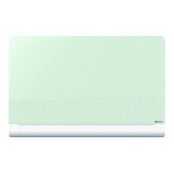 Nobo Widescreen Rounded Glass Whiteboard 57 inch White 1905192