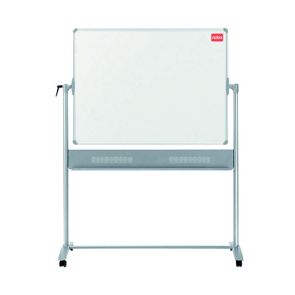 Nobo Basic Melamine Mobile Whiteboard 1200x900mm 1905239