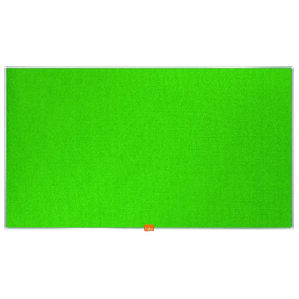 Nobo Widescreen 40inch Green Felt Noticeboard 890x500mm 1905315