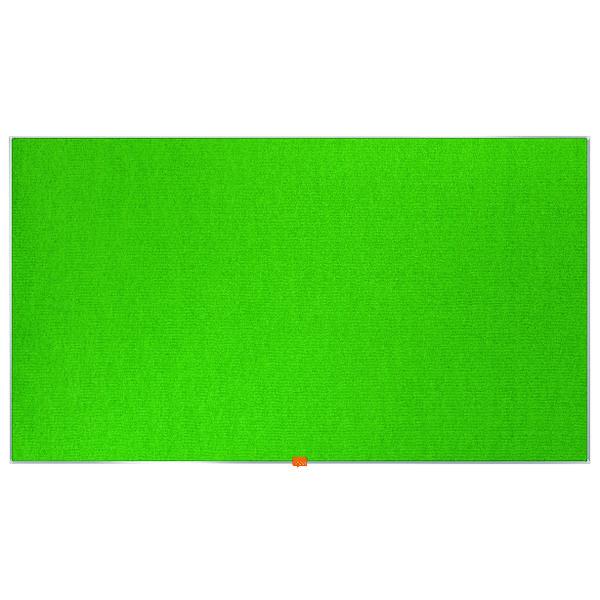 Nobo Widescreen 55inch Green Felt Noticeboard 1220x690mm 1905316