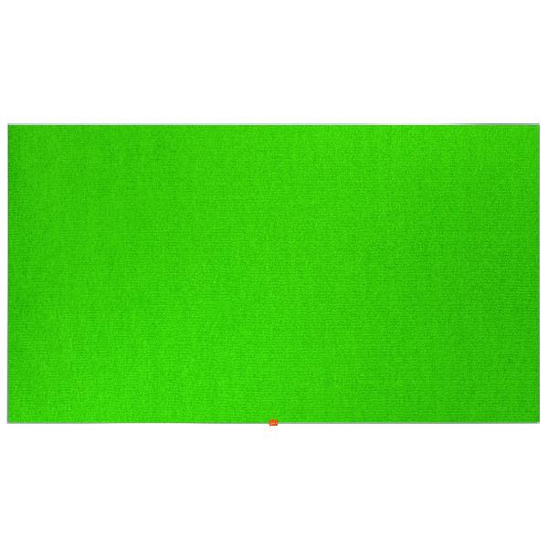 Nobo Widescreen 85inch Green Felt Noticeboard 1880x1060mm 1905317