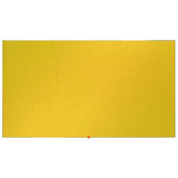 Nobo Widescreen 85inch Yellow Felt Noticeboard 1880x1060mm 1905321