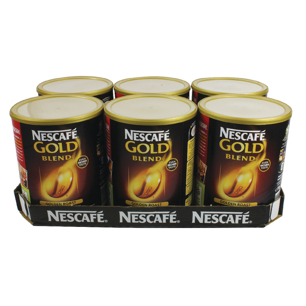 Nescafe Gold Blend Coffee Granules 750gm Case Deal 12284102
