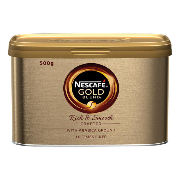 Nescafe Gold Blend Coffee 500g (Pack of 6) 12339246