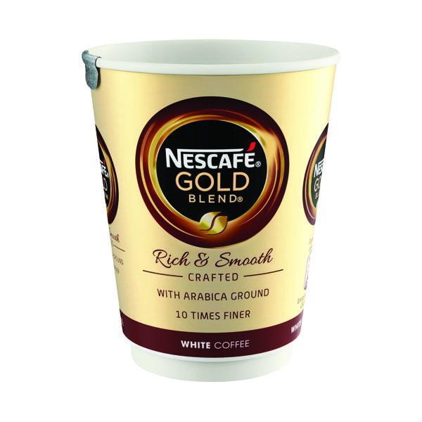 Nescafe and Go Gold Blend White Coffee (Pack of 8) 12368081