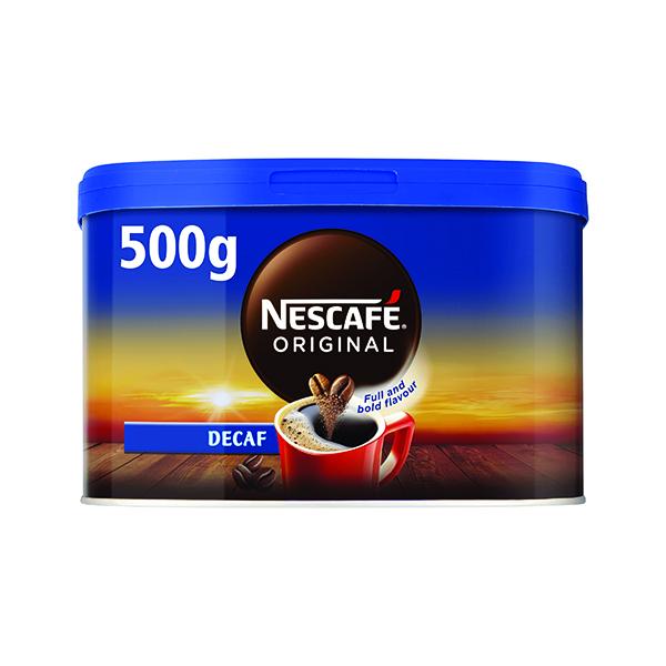 Nescafe Decaffeinated Instant Coffee 500g 12315569