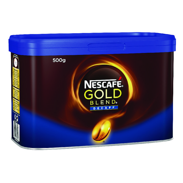 Nescafe Gold Blend Decaffeinated Instant Coffee 500g 12284222
