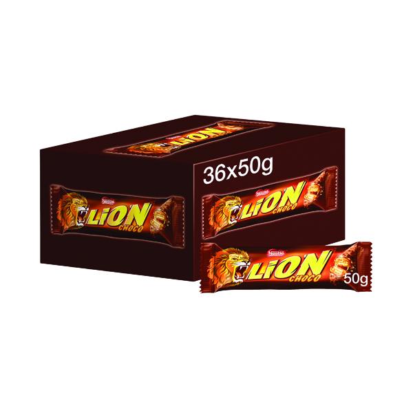 Nestle Lion Bar 50g (Pack of 36) 12220743